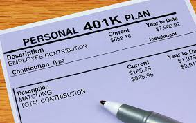 401k Retirement Plan
